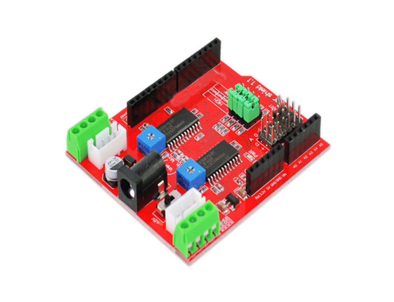 2-Channel Stepper motor driver Shield | OKYSTAR