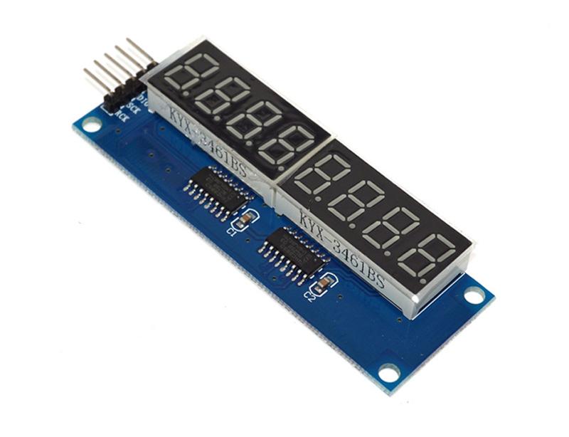 74HC595 LED Digital tube LED Display Module | OKYSTAR
