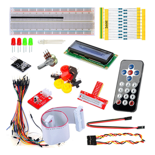 black remote control starter kit