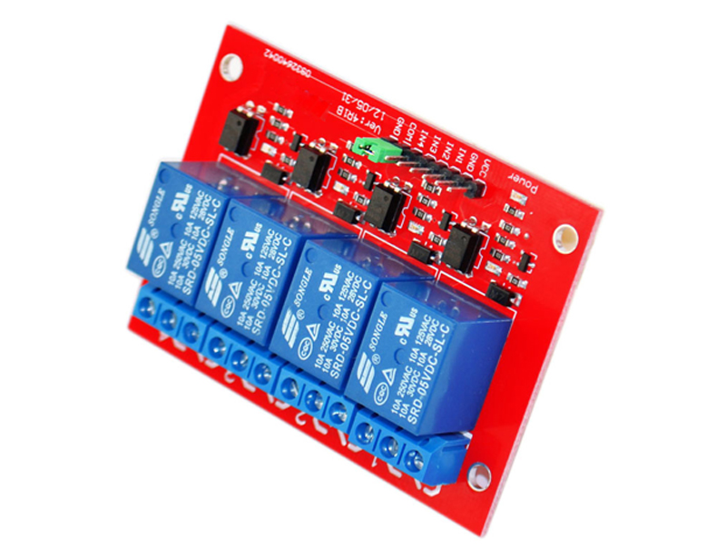 Electronic Fuse Employs A Relay