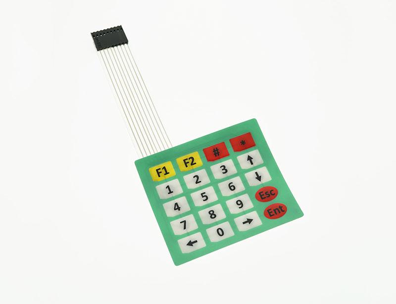 4 5 Matrix 20 Key Membrane Keypad Oky0272 2 Okystar