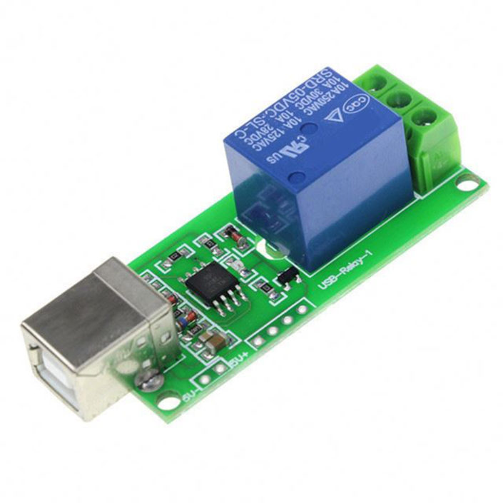 5V USB Relay Module 1 Channel Programmable Computer Control