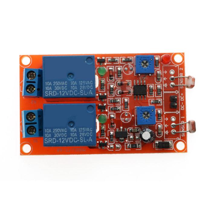 2 channel 12v remote control relay module
