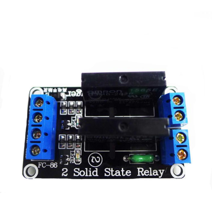 5V 2 Channel SSR Solid-State Relay