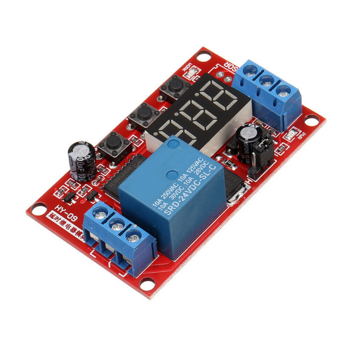 Digital Display Delay Relay Module