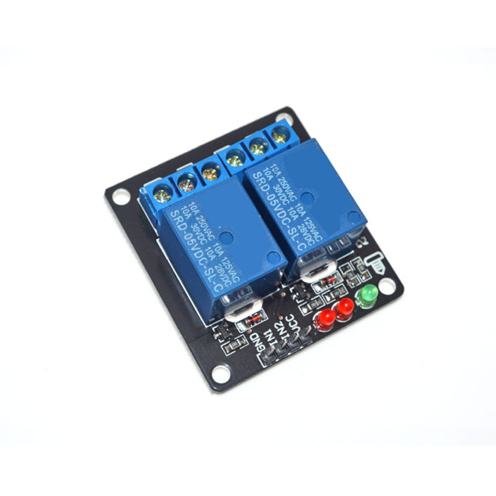 2 Channel Relay Module Low Level Triger