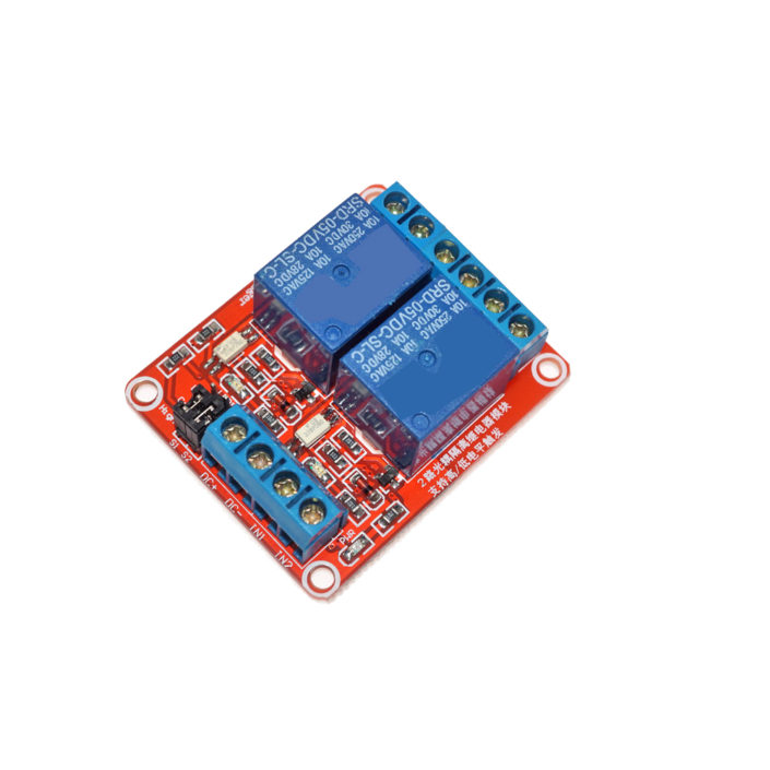 2 Channel Relay Module Supportthe high and low level trigger