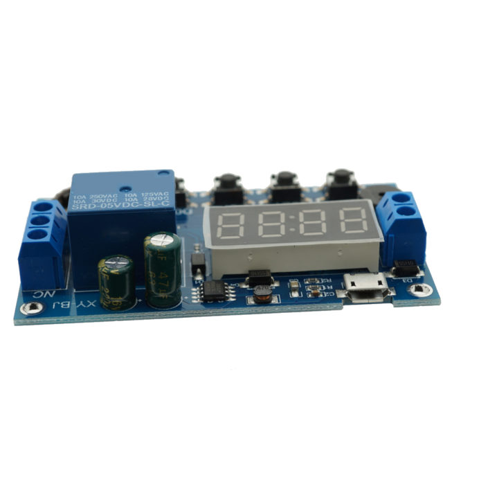 Real-time RTC Relay Timing Switch Module