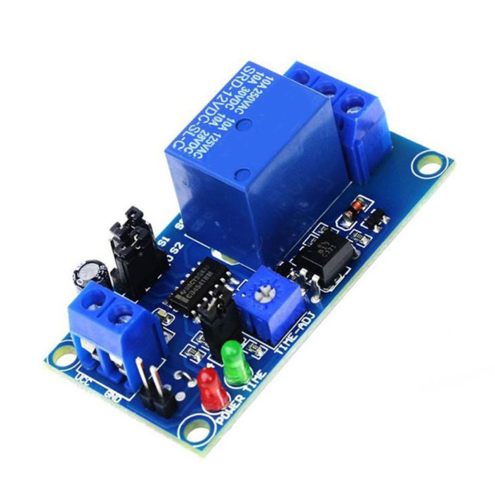 1 Channel Power-off Delay Relay Module