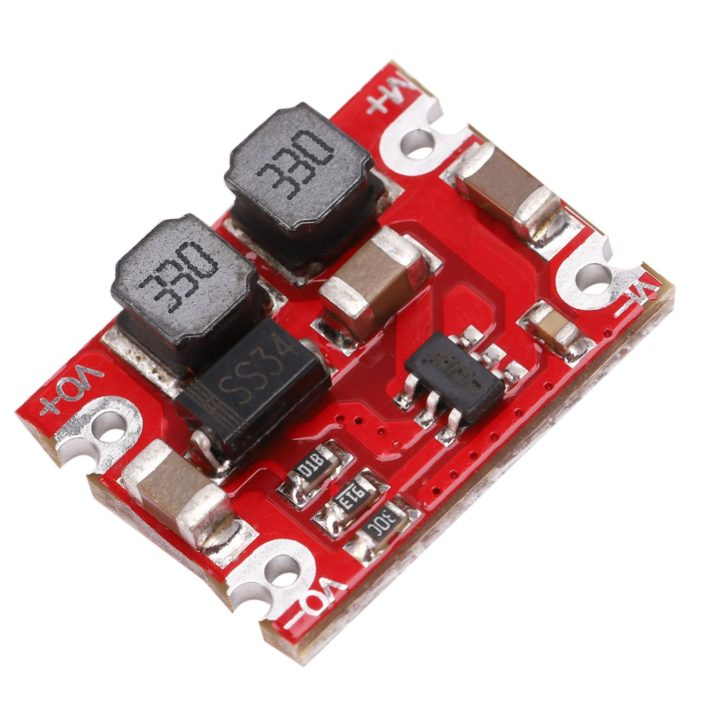 DC-DC Automatic Step Up Step Down Module 2.5V-15V To 3.3V 5V