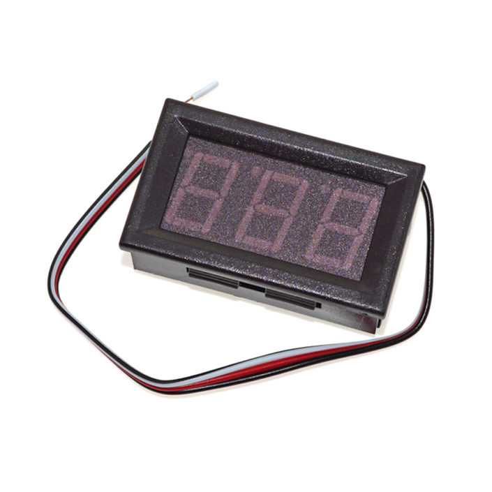 LED Digital Display Panel Volt Meter Voltage Voltmeter